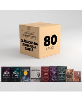 Caixa Para Revendedores | Com 80 Clássicos da Literatura Cristã