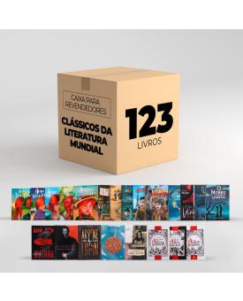 Caixa Para Revendedores | Com 123 Clássicos da Literatura