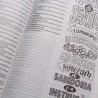 Bíblia Sagrada | King James 1611 | Letra Normal | Semi-flexível | Lettering Bible | Floral | Ultra Fina