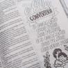 Bíblia Sagrada | King James 1611 | Letra Normal | Semi-flexível | Lettering Bible | Leão | Ultra Fina