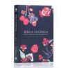 Bíblia Sagrada | NVT | Letra Normal | Capa Dura | Indian Flowers Azul Marinho