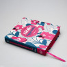 Bíblia Sagrada   NVI   Leitura Perfeita   Letra Normal   Soft Touch   Rosa e Azul   Com Espaço Para Anotações
