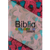 Bíblia Almeida Colorida Jovem   Letra Normal   Brochura   Feminina