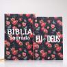 Kit Bíblia ACF + Devocional | Rosas