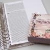 Kit Mãe e Filha   Bíblia Sagrada Anote Plus Flor Marmorizada + Bíblia Para Evangelismo
