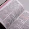 Bíblia Sagrada   NVI   Letra Gigante   Soft Touch   Flores Cruz