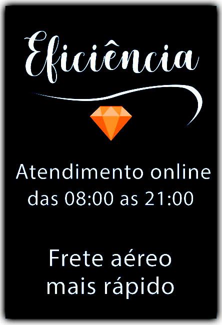 Eficiência, atendimento online das 08:00 as 21:00